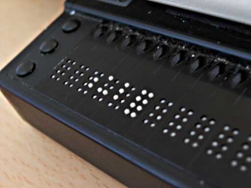 What is Refreshable Braille Anyway?   Wisconsin Council of the Blind &  Visually Impaired