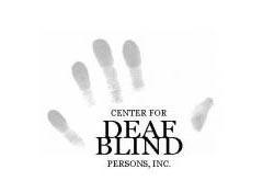 Center for Deaf-Blind Persons logo
