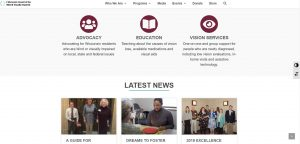 The Council's new website features information about programs, services and the latest news and events.