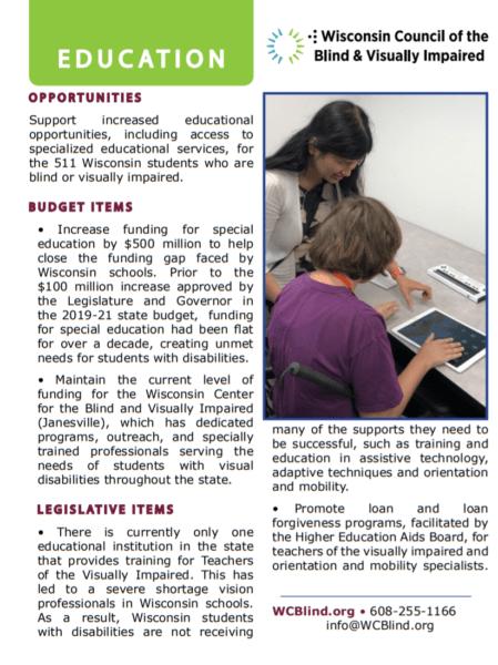Legislative Update Education