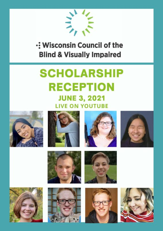 Thumbnail of the Program for 2021 Scholarship Reception