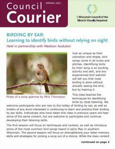 Council Courier Spring 2021 thumbnail